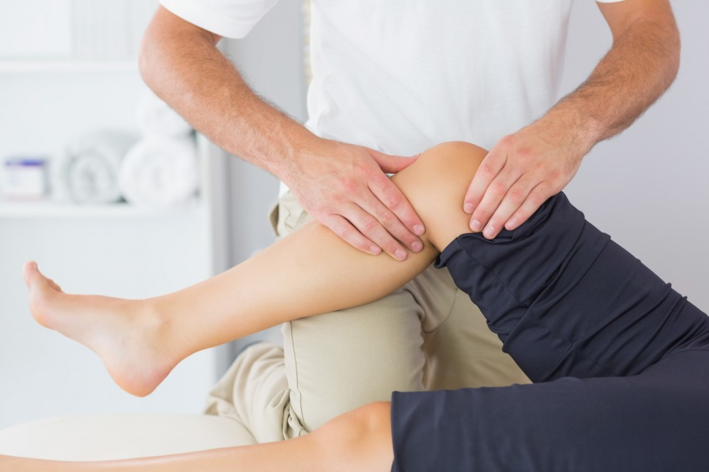 Knee pain care with elite sport and spine