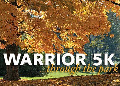 Warrior 5k…through the park 2016